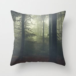 Déjà Vu Throw Pillow