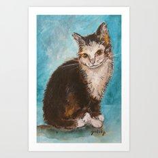 Sweet Kitty Art Print