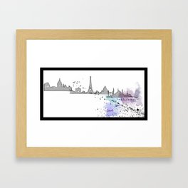 Travel, Space and Architecture  Framed Art Print