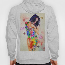 Nature is woman Hoody