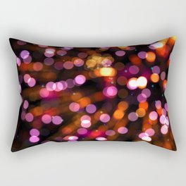 Fireworks Pink (Color) Rectangular Pillow