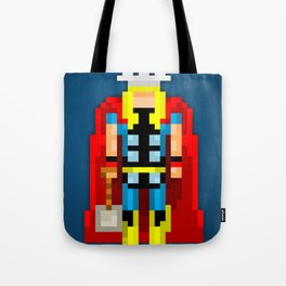 PixelWorld vol. 1   Thor Tote Bag