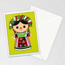 Muneca de trapo Stationery Cards