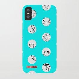 Polka Dot Britz iPhone Case