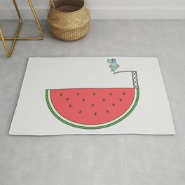 Watermelon Dive Rug