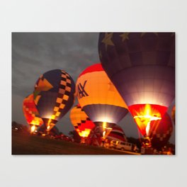 Hot Air Ballons Canvas Print