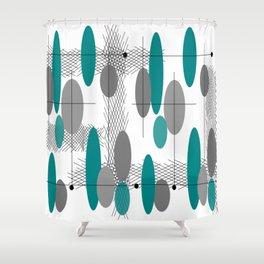 Orbs Always Float Shower Curtain