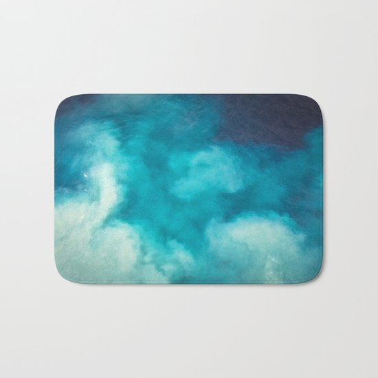 Caribbean Blues Bath Mat