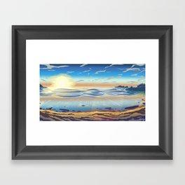 Cox Bay, Tofino Framed Art Print