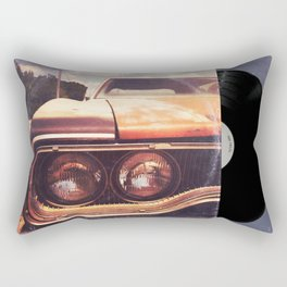 Rusty And Blue - America As Album Art Rectangular Pillow