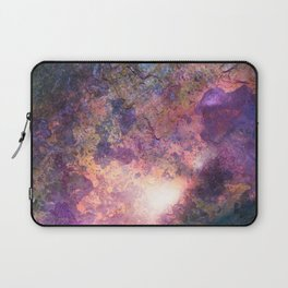Rebirth   Galaxy Abstract Painting Laptop Sleeve