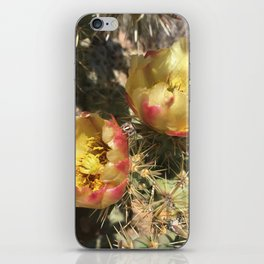 Cactus Flower iPhone Skin