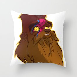 Wild is the Wind Throw Pillow