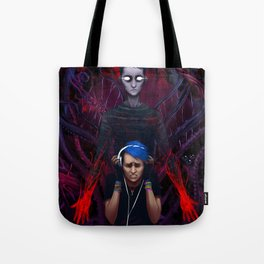 Drown It Out Tote Bag