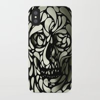 anna iPhone & iPod Cases featuring Skull by Ali GULEC