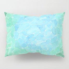 Abstract Sea Glass Pillow Sham