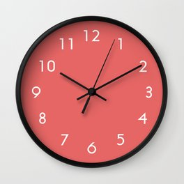 Cayenne Wall Clock