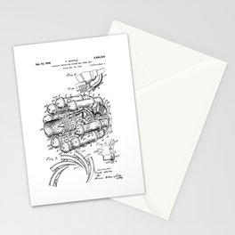 Jet Engine: Frank Whittle Turbojet Engine Patent Stationery Cards