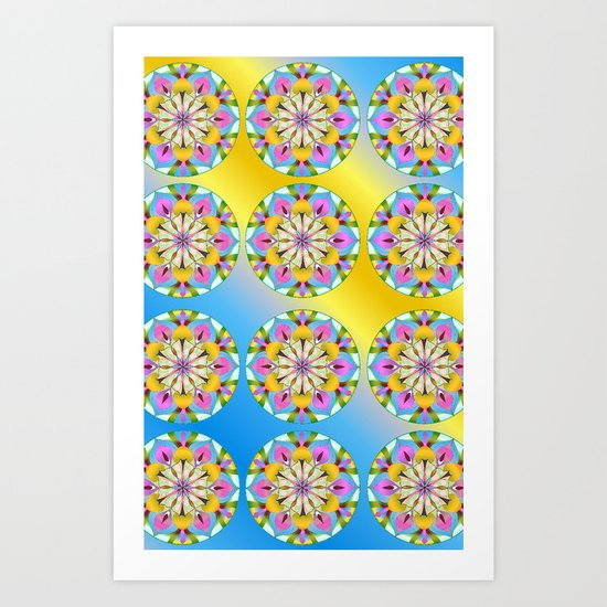 Let the Sun Shine in! Art Print