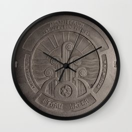 Found on the Street Wall Clock