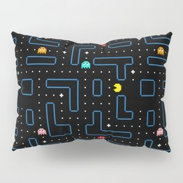 Pac-Man Retro Arcade Gaming Design Pillow Sham