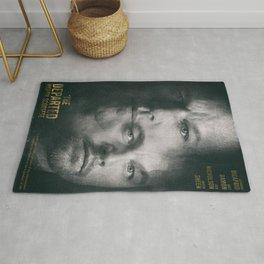 The Departed, Martin Scorsese movie poster, Leonardo DiCaprio, Matt Damon, american mafia film Rug