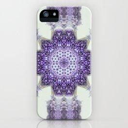 blue Hyacinthus N°2  ( pillow) iPhone Case