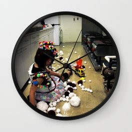 Play Ground Wall Clock