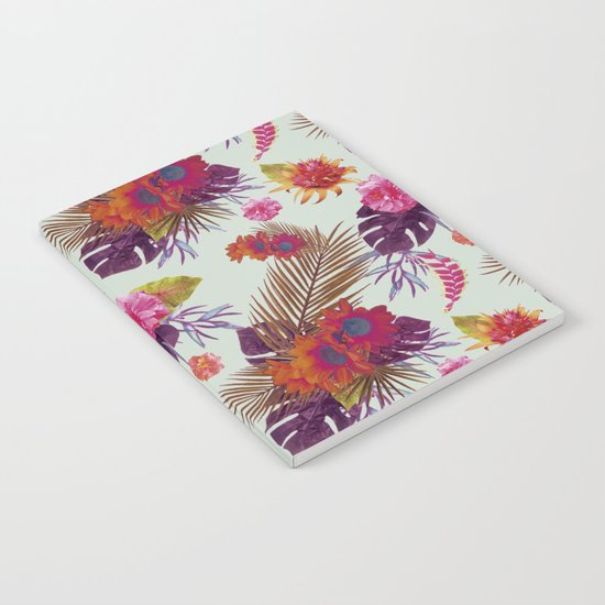 TROPICAL FLORAL PASSION Notebook