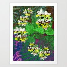 Fern Tripn Art Print