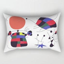 Joan Mirò #3 Rectangular Pillow