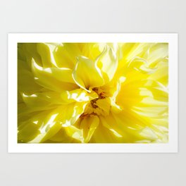 yellowSea Art Print