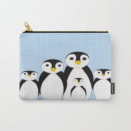 The Penguin Family Carry-All Pouch