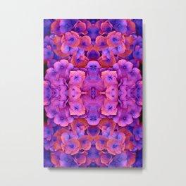 Future Floral Metal Print