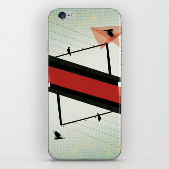 across the grey iPhone & iPod Skin