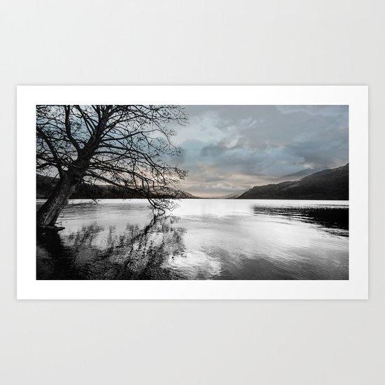 Ullswater Art  Art Print