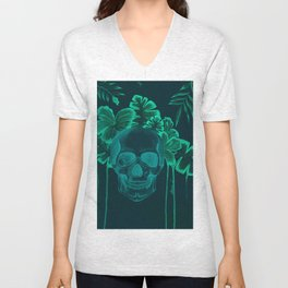 Skull jungle Unisex V-Neck