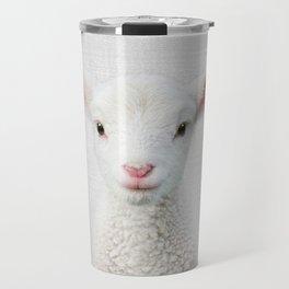 Lamb - Colorful Travel Mug