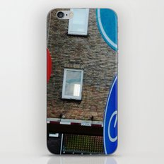 Holland LOVES Traffic Signs! iPhone & iPod Skin