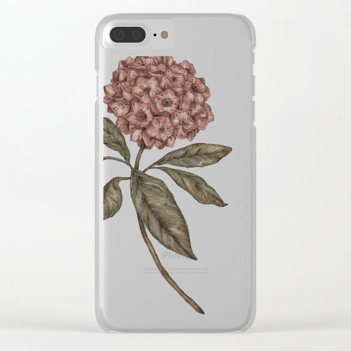 Mountain Laurel Clear iPhone Case