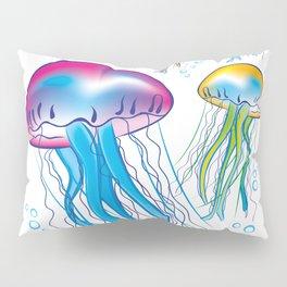 jellyfishes interior design by Crearinery Pillow Sham