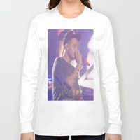 liam payne Long Sleeve T-shirts featuring Liam Payne by Halle