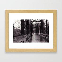 I Ragazzi Sul Ponte Framed Art Print