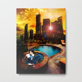 The Bright and The Shallow Metal Print