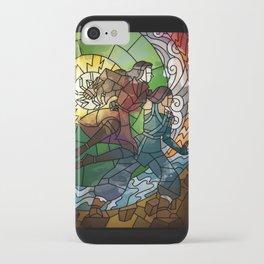 Korrasami - Fighting Duo iPhone Case