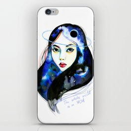 The whole world iPhone Skin