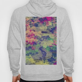 Abstract painting X 0.3 Hoody