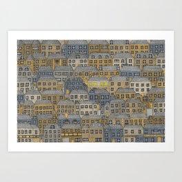 Buy me a house. Art Print