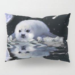 Destiny - Harp Seal Pup & Ice Floe Pillow Sham
