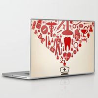 doctor Laptop & iPad Skins featuring Doctor by aleksander1